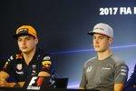Max Verstappen (Red Bull) und Stoffel Vandoorne (McLaren)