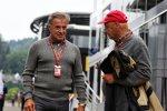 Jean Alesi und Niki Lauda