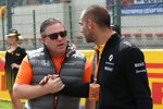 Zak Brown und Cyril Abiteboul