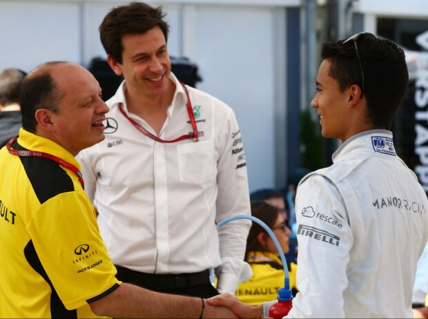 Toto Wolff, Pascal Wehrlein