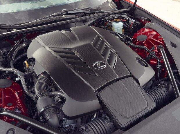 Motor des Lexus LC 500