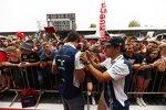 Lance Stroll (Williams) und Felipe Massa (Williams)