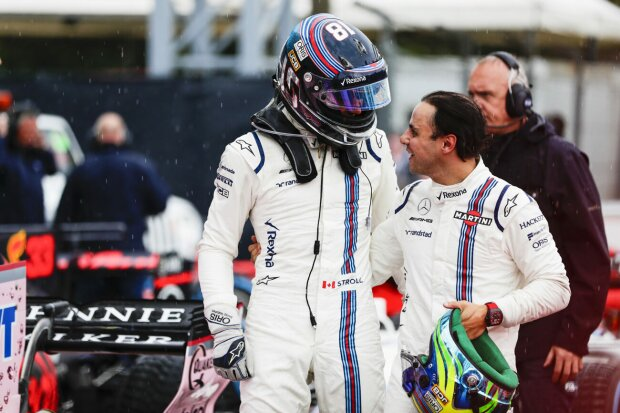 Lance Stroll Felipe Massa Williams Williams Martini Racing F1 ~Lance Stroll (Williams) und Felipe Massa (Williams) ~