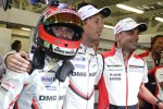 Timo Bernhard (Porsche) , Brendon Hartley (Porsche) und Earl Bamber (Porsche)