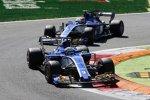 Marcus Ericsson (Sauber) und Pascal Wehrlein (Sauber)