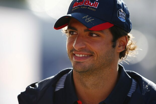 Carlos Sainz Toro Rosso Scuderia Toro Rosso F1 ~Carlos Sainz (Toro Rosso) ~