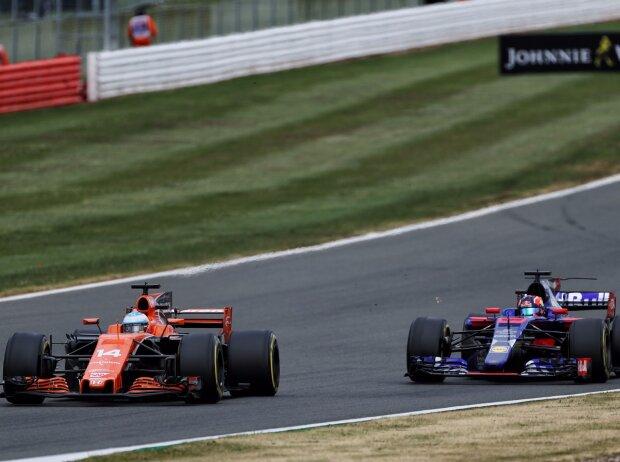 Fernando Alonso, Daniil Kwjat