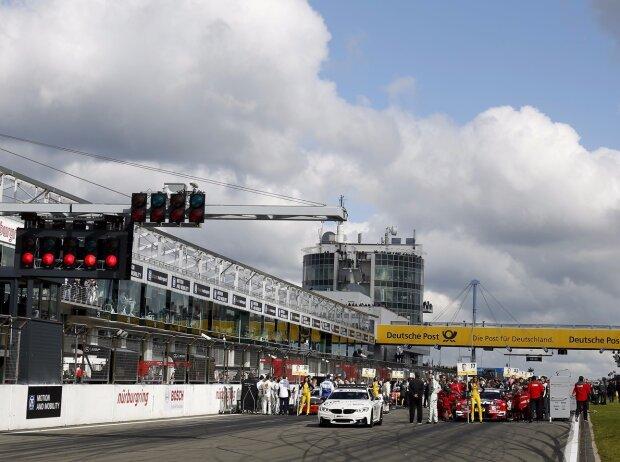 Start auf dem Nürburgring