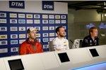 Gary Paffett (HWA-Mercedes) und Maxime Martin (RBM-BMW)
