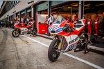 Die Ducati von Andrea Dovizioso