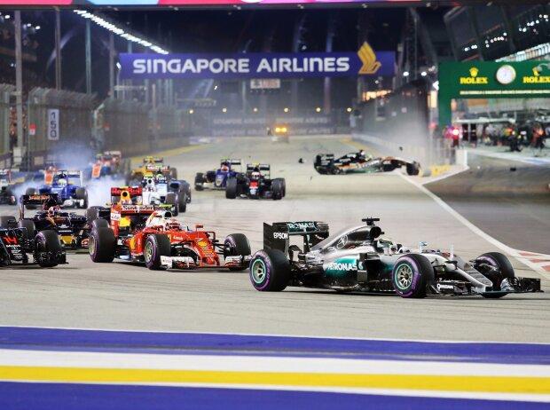 Lewis Hamilton, Nico Hülkenberg