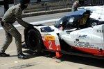 Timo Bernhard, Brendon Hartley und Earl Bamber (Porsche)