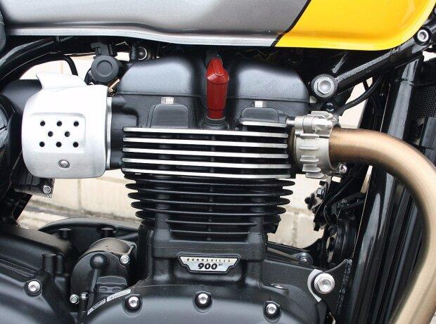 Motor der Triumph Street Cup 2017