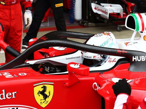 Sebastian Vettel, Halo