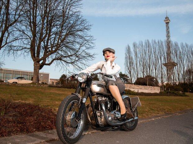 Motorworld Classics Berlin mit Motorrad-Halle