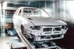 Bau des Opel Astra im Opel-Werk Eisenach