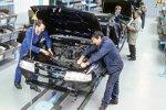 Bau des Opel Vectra im Opel-Werk Eisenach