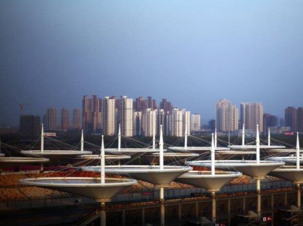 Umgebung der Rennstrecke in Schanghai