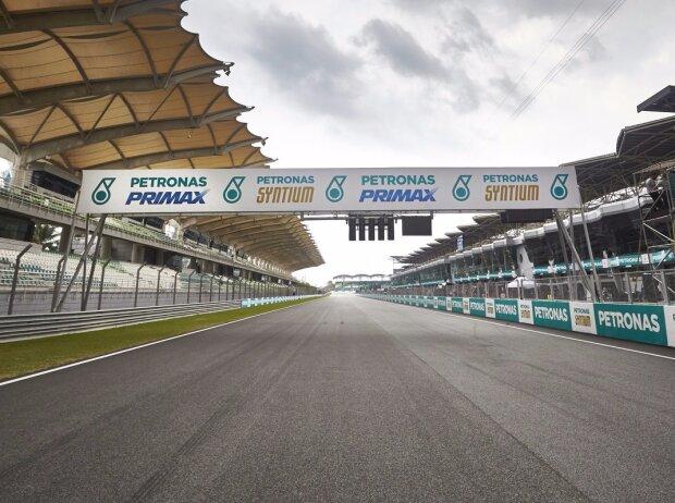 Sepang International Circuit, Start/Ziel-Gerade