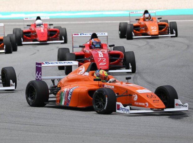 Asiatische Formel 4 in Sepang