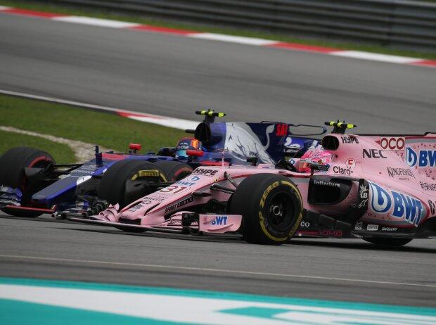 Carlos Sainz, Esteban Ocon