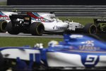 Felipe Massa (Williams), Lance Stroll (Williams) und Marcus Ericsson (Sauber)