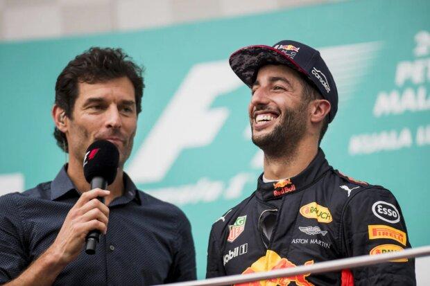 Mark Webber Daniel Ricciardo Red Bull Red Bull Racing F1 ~Mark Webber und Daniel Ricciardo (Red Bull) ~