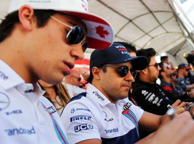 Lance Stroll, Felipe Massa