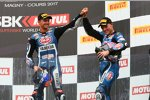 Michael van der Mark und Alex Lowes