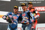 Chaz Davies, Alex Lowes und Michael van der Mark