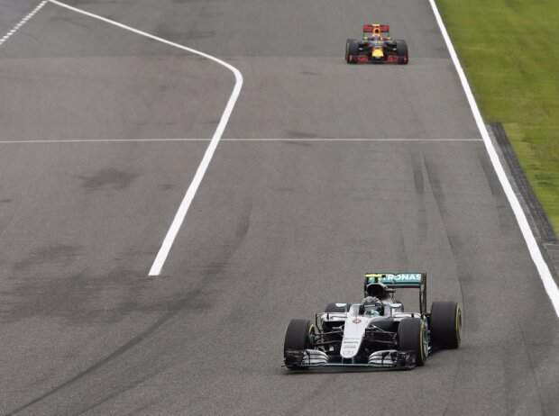 Nico Rosberg, Max Verstappen