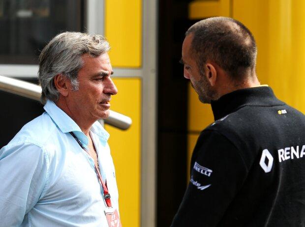 Carlos Sainz, Cyril Abiteboul