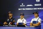 Daniel Ricciardo (Red Bull), Felipe Massa (Williams) und Lance Stroll (Williams)