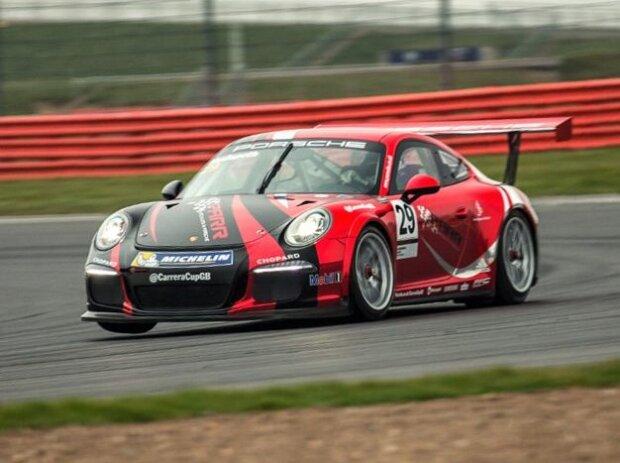 Als VIPs zum prestigeträchtigen Porsche Carrera Cup nach Hockenheim