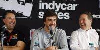 Michael Andretti, Fernando Alonso, Zak Brown