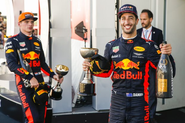 Max Verstappen Daniel Ricciardo Red Bull Red Bull Racing F1 ~Max Verstappen (Red Bull) und Daniel Ricciardo (Red Bull) ~