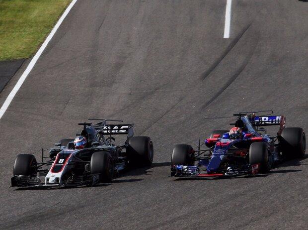 Romain Grosjean, Pierre Gasly