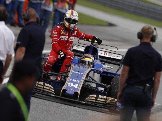 Sebastian Vettel, Pascal Wehrlein, Lance Stroll