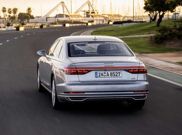 Vorstellung Audi A8 2018: Info zu Motoren, Interieur, Austattung