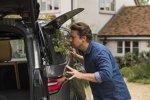 Land Rover Discovery von Starkoch Jamie Oliver: Kräuterbeet im Heckfenster
