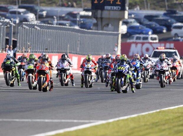 MotoGP Start in Motegi