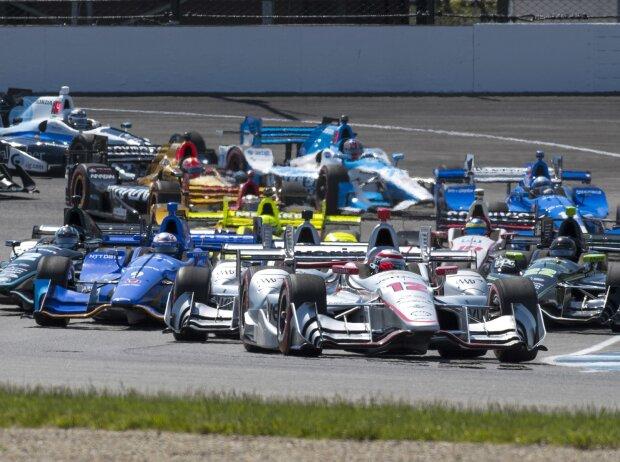 Start zum Grand Prix von Indianapolis 2017