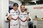 Frederic Makowiecki  und Richard Lietz (Porsche)