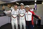 Earl Bamber, Brendon Hartley und Timo Bernhard (Porsche)
