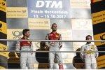 Mike Rockenfeller (Phoenix-Audi), Jamie Green (Rosberg-Audi) und Timo Glock (RMG-BMW)