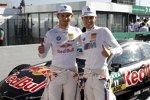 Marco Wittmann (RMG-BMW) und Tom Blomqvist (RBM-BMW)