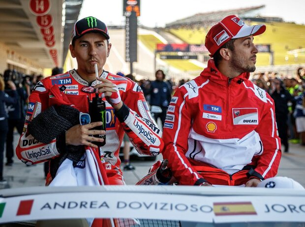 Jorge Lorenzo, Andrea Dovizioso