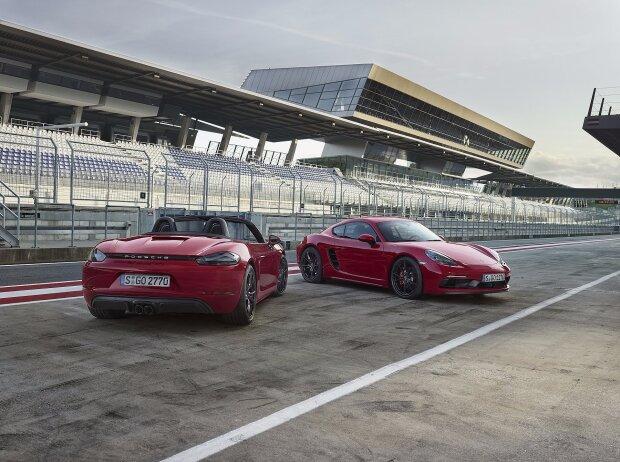 Porsche 718 Boxster GTS und 718 Cayman GTS 2018