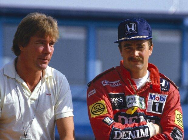 James Hunt, Nigel Mansell