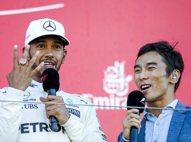 Lewis Hamilton, Takuma Sato